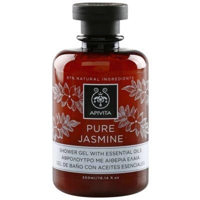 sprchový gél s esenciálnymi olejmi