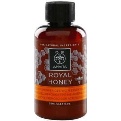 gel de duche cremoso com óleos essenciais