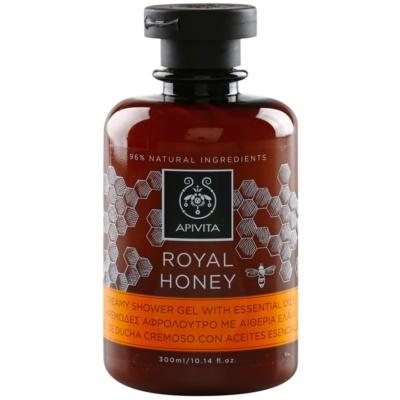 кремовий гель для душу з есенціальними маслами