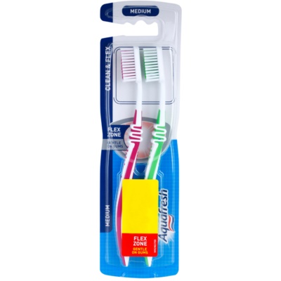 zubní kartáčky medium 2 ks