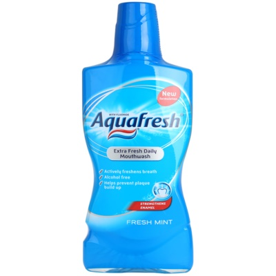 Aquafresh Fresh Mint Mouthwash For Fresh Breath