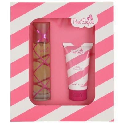 Aquolina Pink Sugar dárková sada I. toaletní voda 50 ml + sprchový gel 50 ml