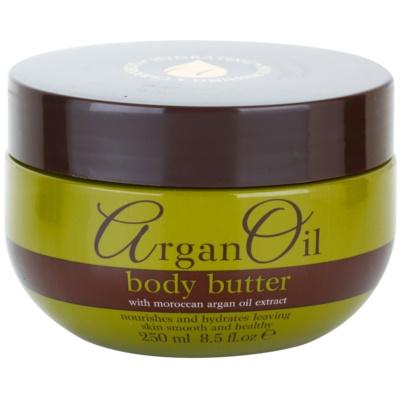 manteiga corporal  com óleo de argan