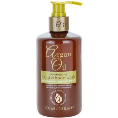 savon liquide nourrissant à l'huile d'argan