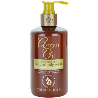hranilno tekoče milo z arganovim oljem