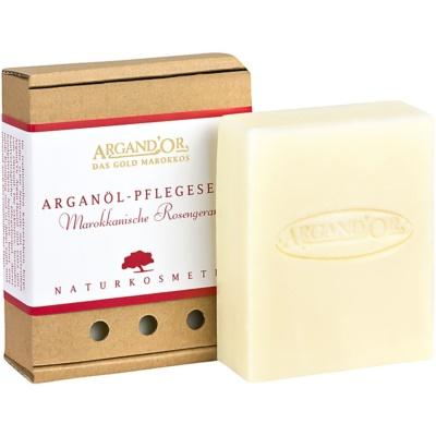 arganové mýdlo s vůní marocké růže
