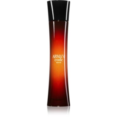 Armani Code Satin eau de parfum pentru femei