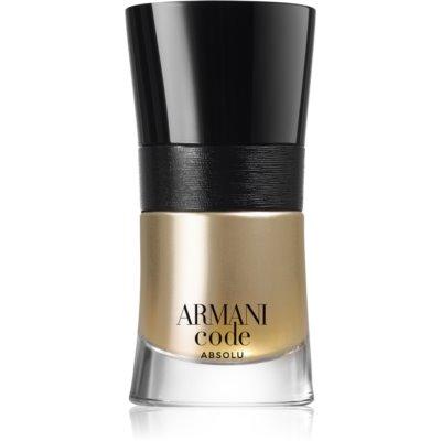 Armani Code Absolu eau de parfum pentru bărbați 30 ml