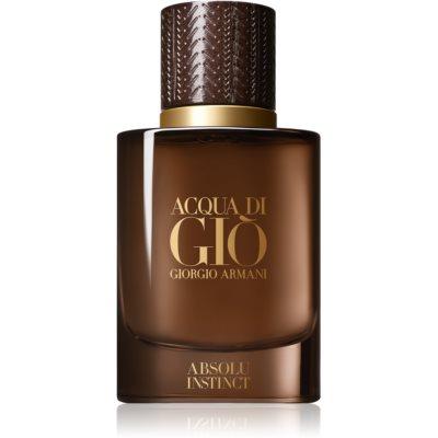 Armani Acqua di Giò Absolu Instinct eau de parfum pour homme 40 ml