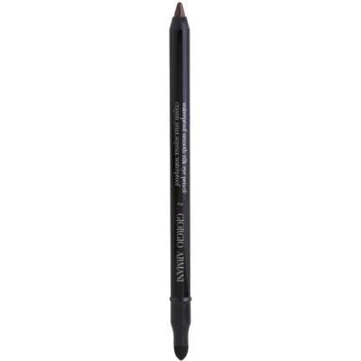 voděodolná tužka na oči s aplikátorem