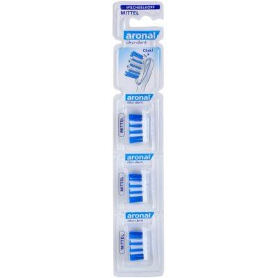 3 cabeças de substituição para escova de dentes