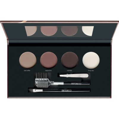 Artdeco Let's Talk About Brows Most Wanted Palette mit pudrigen Augenbrauenschatten
