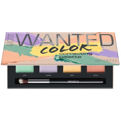 Artdeco Cover & Correct Most Wanted Corrector Palette  tegen Oneffenheden