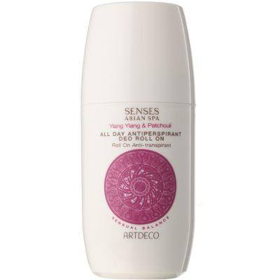 antiperspirant roll-on parfumat impotriva transpiratiei excesive