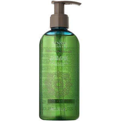 ošetrujúci sprchový olej pre jemnú a hladkú pokožku