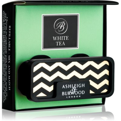 Ashleigh & Burwood London Car White Tea ambientador auto   clip