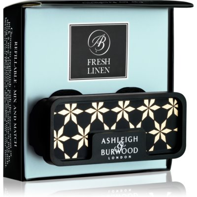 Ashleigh & Burwood London Car Fresh Linen aромат для авто   зажим