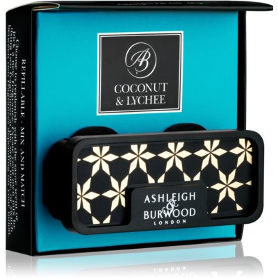 Ashleigh & Burwood London Car Coconut & Lychee aромат для авто   зажим