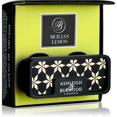 Ashleigh & Burwood London Car Sicilian Lemon mirisi za auto   clip