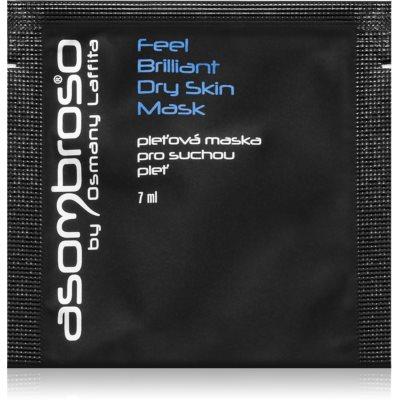 Hydratisierende Maske für trockene Haut