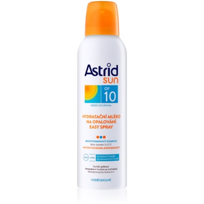Moisturising Sunscreen Lotion in Spray SPF 10