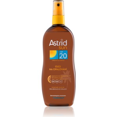 olio abbronzante in spray SPF 20