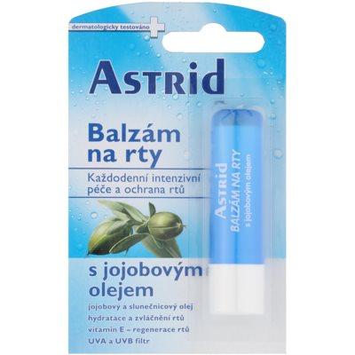 Balsam de buze hranitor cu ulei de jojoba