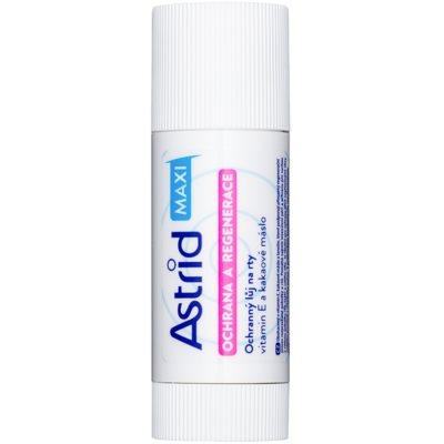 schützendes Lippenbalsam mit regenerierender Wirkung