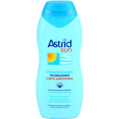 hydratační tělové mléko po opalování