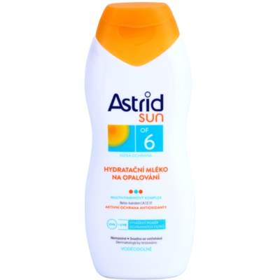 hidratáló napozótej SPF 6