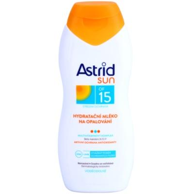 leite after sun hidratante  SPF 15