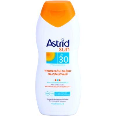 hidratáló napozótej SPF 30