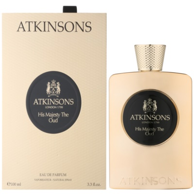 Atkinsons His Majesty Oud Eau de Parfum για άνδρες
