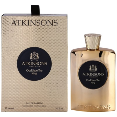 Atkinsons Oud Save The King Eau de Parfum for Men