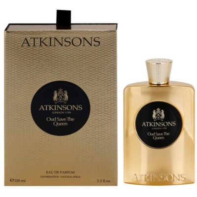 Atkinsons Oud Save The Queen eau de parfum per donna