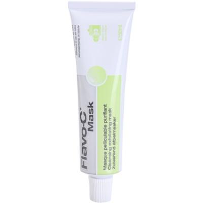mascarilla facial exfoliante limpiadora