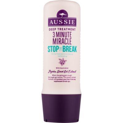 masque 3 minutes anti-cheveux cassants