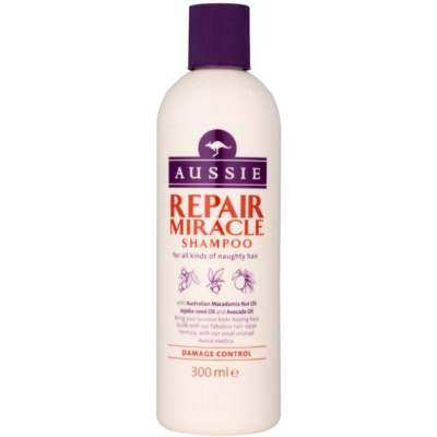 aussie repair miracle soin l 39 huile pour cheveux ab m s. Black Bedroom Furniture Sets. Home Design Ideas