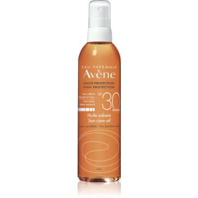 Avène Sun Sensitive napozó olaj spray -ben SPF 30