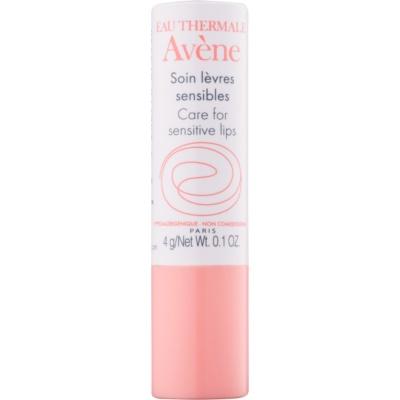 verzorgende lippenbalsem voor gevoelige lippen