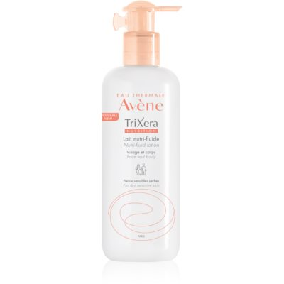Avène TriXera Nutrition Närande flytande lotion för ansikte och kropp  För torr och känslig hud