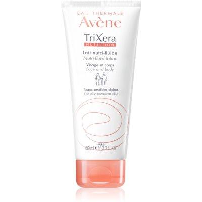 intenzivno hranilni fluid-mleko za obraz in telo za suho in občutljivo kožo