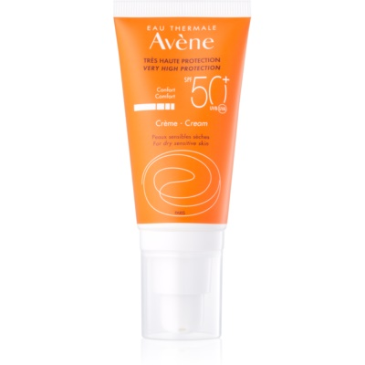 Avène Sun Sensitive Protective Cream for Dry and Sensitive Skin SPF 50+