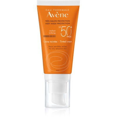 Tinted Protective Cream for Dry and Sensitive Skin SPF 50+