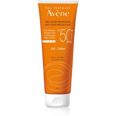 leite protetor para pele sensível SPF 50+