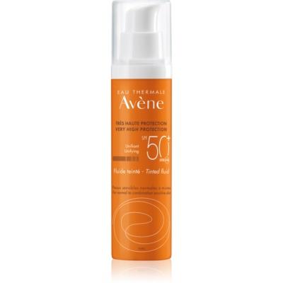 fluide protecteur tonifiant pour peaux normales à mixtes SPF50+