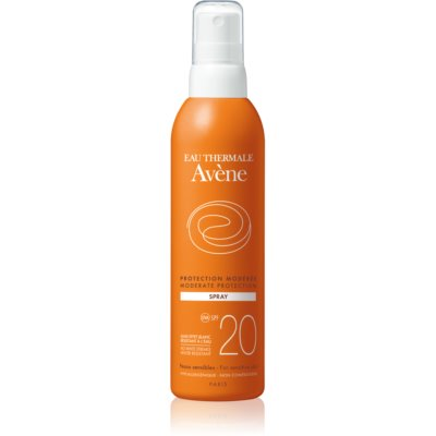 Zonnebrand Spray  SPF 20
