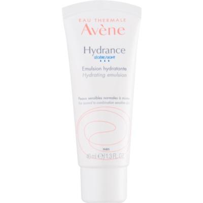 émulsion hydratante pour peaux sensibles normales à mixtes