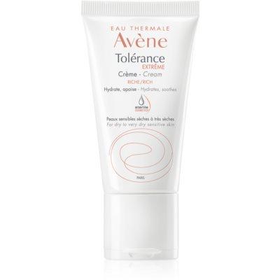 Avène Tolérance Extreme creme hidratante e apaziguador  para pele sensível e intolerante