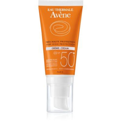Avène Sun Sensitive crema protettiva per pelli secche e sensibili SPF 50+